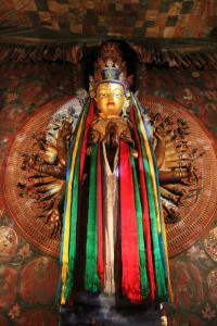 Budda współczucia o tysiącu rąk - Awalokiteśwara