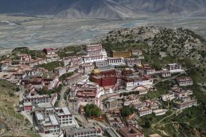 Klasztor Ganden w Tbecie