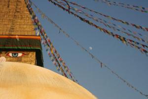 wielka stupa w Nepalu - Bodhnat (1)