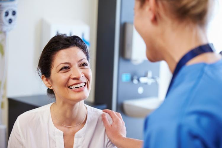 leczenie niepłodności, wizyta u ginekologa