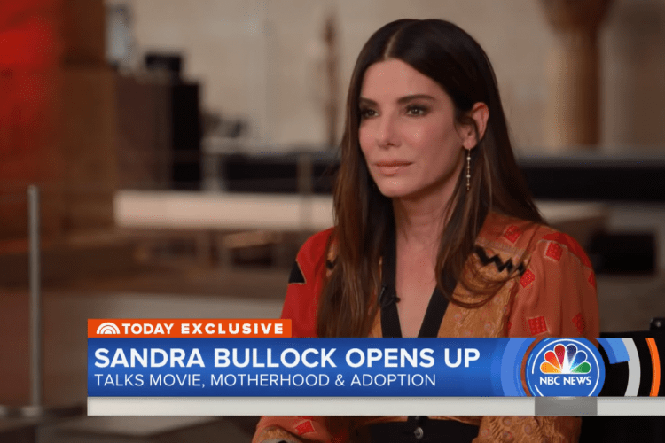 Sandra Bullock o adopcji