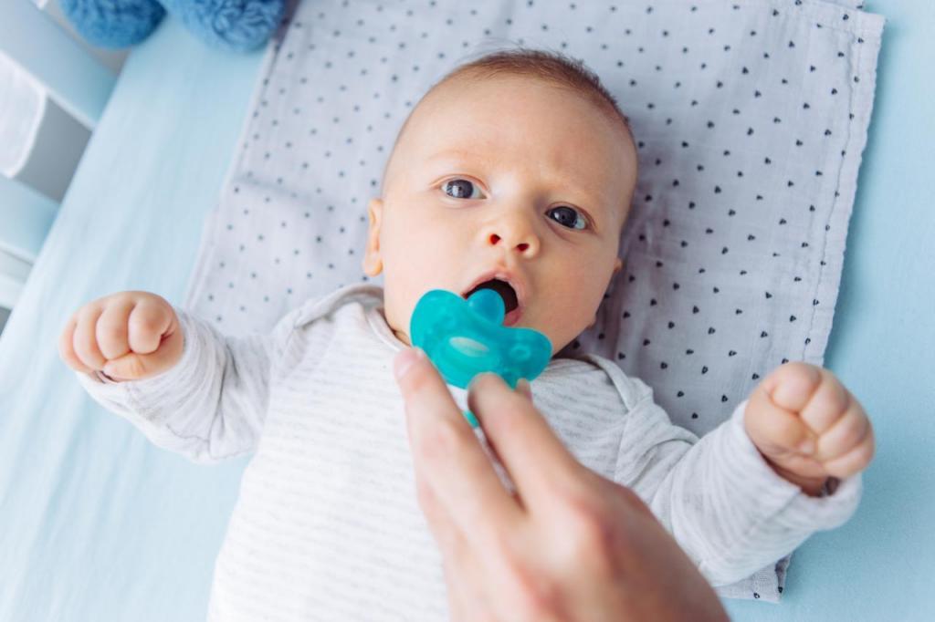 Smoczki dla dzieci - jak wybierać