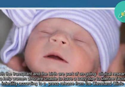 Dziecko urodzone dzięki przeszczepowi macicy. To drugi taki przypadek na świecie.