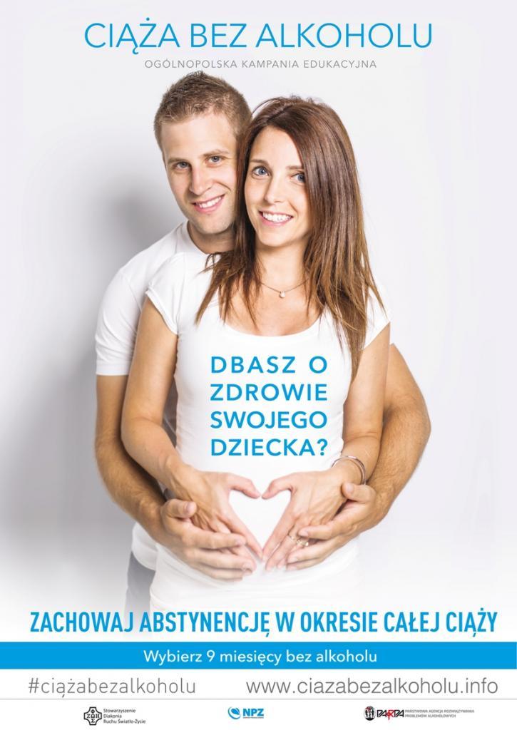 W ciągu 9 miesięcy ciąży nie powinien być pity żaden alkohol nawet w minimalnych dawkach