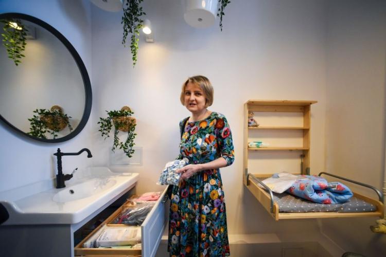 Pokój porodowy - szpital im. Rydygiera w Łodzi