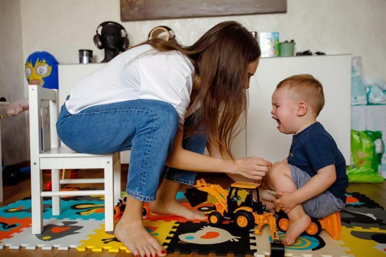 Zachowanie dziecka przy matce