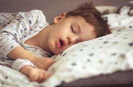 Dziecko chrapie